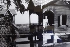 Marie's kuti at Maha Bodhi Meditation Centre (1957).