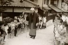 Tenko San the founder of Ittoen community.