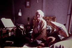 Marie lived and slept on Ahimsa's verandah.