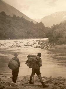 Mahitahi River NZ 1935